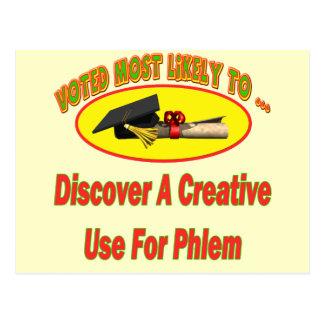 Phlemのための使用 ポストカード