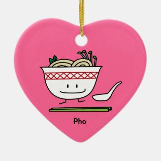 Phoのヌードルボールのベトナムのスープ用のスプーンの箸 セラミックオーナメント