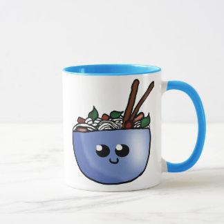 Phoのマグのチビ(小さくかわいく書いた感じ)ボール マグカップ