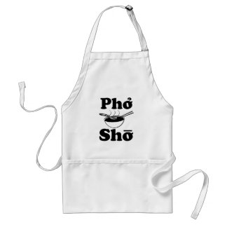 Pho Shoおもしろいなベトナムスープ発言 スタンダードエプロン