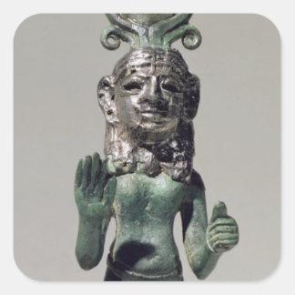 PhoeniからのPhoenicianの女神の小像、 スクエアシール