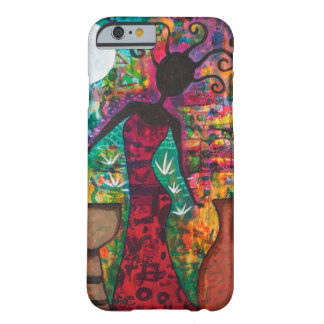 Phone Caseアフリカの女性 Barely There iPhone 6 ケース