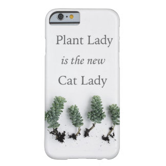 Phone Case植物の女性 Barely There iPhone 6 ケース
