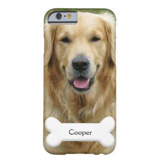 PhoneCase -カスタムなペット(犬)写真および名前 Barely There iPhone 6 ケース