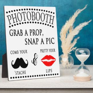 Photoboothの印 フォトプラーク