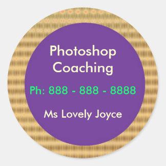 Photoshopのクラス-ビジネスサポートプロダクト ラウンドシール