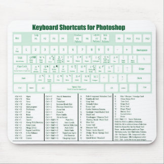 Photoshopのショートカットキーのマウスパッド マウスパッド