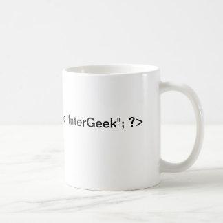 PHP InterGeekのエコーのマグ コーヒーマグカップ