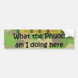 Phuocのヘルメットの落書き何 バンパーステッカー