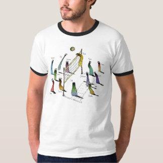 Phurfooのバレーボール-名前の… Tシャツ