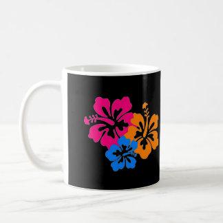Phyllisのハイビスカスのカスタマイズ可能なマグ コーヒーマグカップ