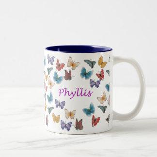 Phyllis ツートーンマグカップ