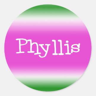Phyllis ラウンドシール