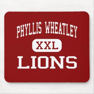 PHYLLIS WHEATLEY -ライオン-高サン・アントニオ マウスパッド