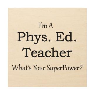 Phys。 エド。 先生 ウッドウォールアート