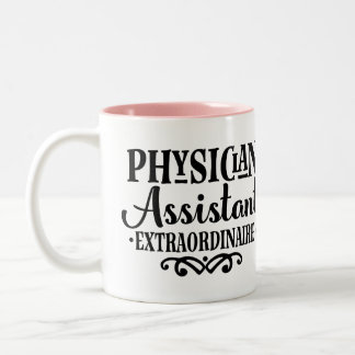 Physician Assistant Extraordinaire Gift Mug ツートーンマグカップ