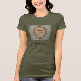 piとして簡単 tシャツ