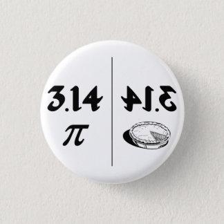 Piによって逆転させるパイ鏡 3.2cm 丸型バッジ
