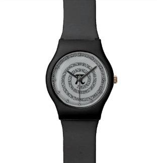 Piのかちりと言う音のためのねじれは灰色色を変えるためにカスタマイズ 腕時計