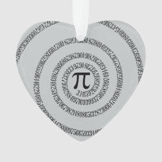 Piのかちりと言う音のための螺線形は変更の灰色色をカスタマイズ オーナメント