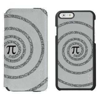Piのかちりと言う音のための螺線形は変更の灰色色をカスタマイズ Incipio Watson™ iPhone 5 財布型ケース