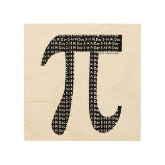 Piのシンプル ウッドウォールアート