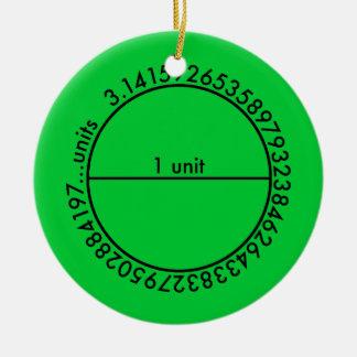 Piの円 セラミックオーナメント
