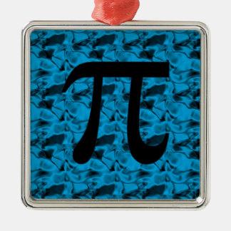 Piの印 シルバーカラー正方形オーナメント