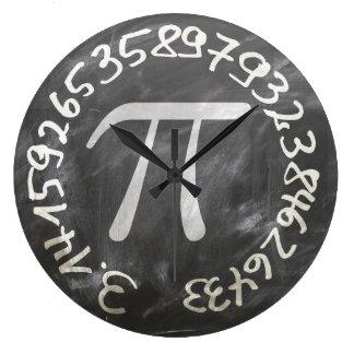 Piの時計 ラージ壁時計