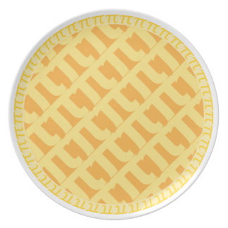 Piの格子パイプレート-アップルパイ プレート