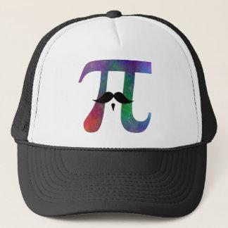 Piの記号のおもしろいな口ひげ キャップ
