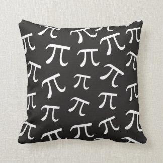 Piの記号3.14の数学のテーマの家の装飾の多く クッション
