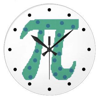 Piは円形です ラージ壁時計
