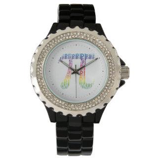 Piは文字の記号 のギークの腕時計をタイプしました 腕時計