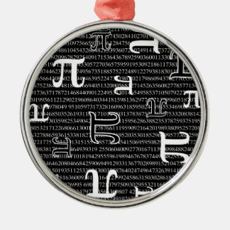 Piは正方形です メタルオーナメント