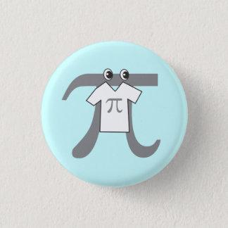 Piを身に着けているPi 3.2cm 丸型バッジ