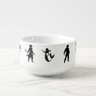 Pi女中、海賊および人魚は一緒に行きます スープマグ