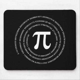 Pi数デザイン マウスパッド