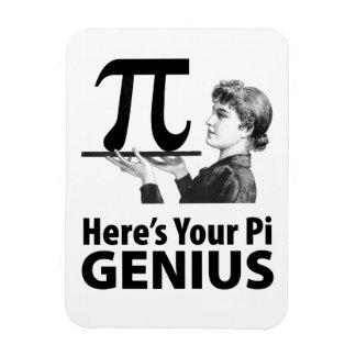 Pi数ユーモア マグネット
