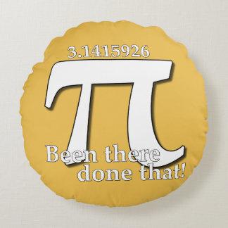 Pi日のお祝い-そこにされて(Euler) ラウンドクッション