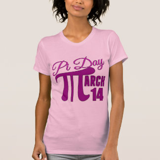 Pi日3月14日 Tシャツ