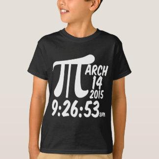 Pi日3/14/15 Tシャツ
