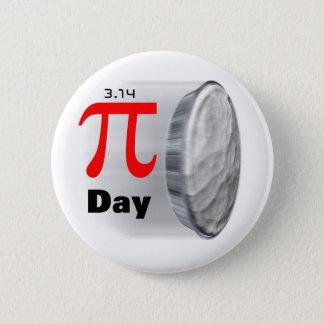 Pi日- 3月14日ボタン 5.7cm 丸型バッジ