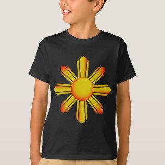 PI黄色い日曜日は暗いTシャツをからかいます Tシャツ