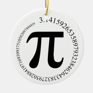 Pi (π)日 セラミックオーナメント