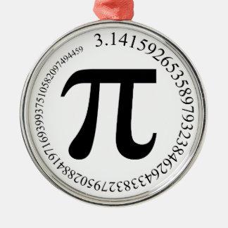 Pi (π)日 メタルオーナメント