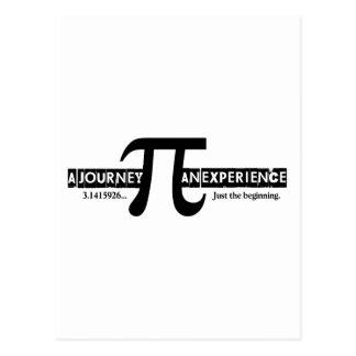 Pi: 旅行。 経験 ポストカード