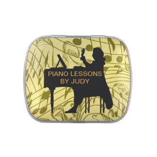 PIANO-CANDYの錫 缶入りキャンディー