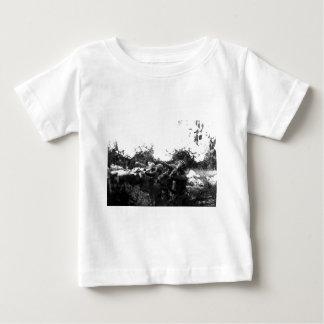 Piaveの前部第1次世界大戦のアメリカの兵士 ベビーTシャツ