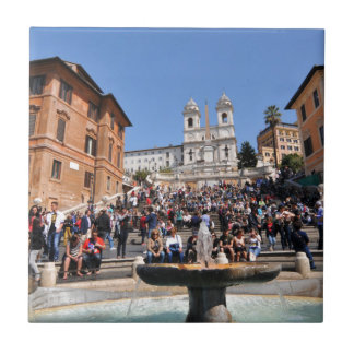 Piazza di Spagna、ローマ、イタリア タイル
